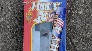 5️⃣Break 1in shell x3️⃣: July the 4th shells ( EL TORRO Fireworks)