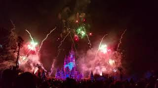 Disney World Happily Ever After Fireworks from Magic Kingdom