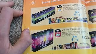 Tesco Fireworks Leaflet 2019
