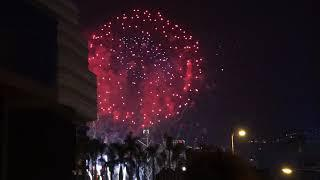 New Year 2019 Fireworks Show in Hong Kong by CRAZYRICHBACKPACKERS