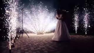 Пиротехническое шоу на свадьбу