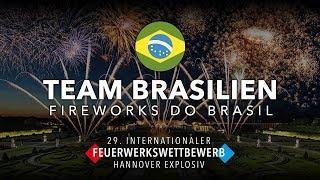 """29. internationaler Feuerwerkswettbewerb 2019 - Team Brasilien """"Fireworks do Brasil"""""""