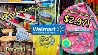 Walmart SHOP WITH ME Back To School FIREWORKS Clearance NEW FINDS * Vamos De Compras * PREÇOS BAIXOS