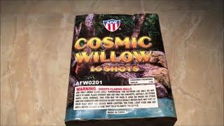 Cosmic Willow By AFW Fireworks