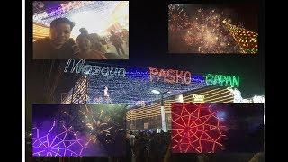 Gapan City fireworks display 12018