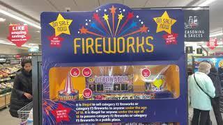 ALDI FIREWORKS 2021 TNT  FIREWORKS