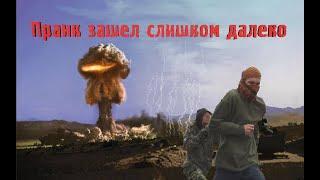 Взрываем газовые баллоны ядерными петардами