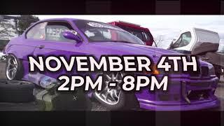 Scottish Drift Championship Rd4 Promo HUGE fireworks and bonfire