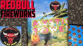 1️⃣6️⃣shot 200gram: MYSTIC POWER (Red Bull Fireworks/Yi He Long) *RARE*