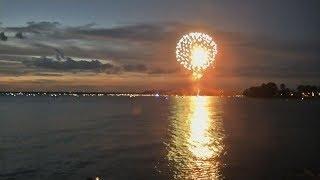 Lake Murray, SC 4th of July fireworks 2019: full video