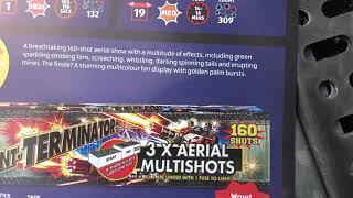 Aldi Fireworks 2020