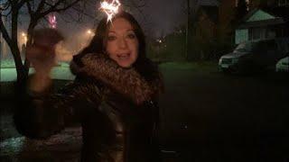 Подготовка к Новому году // Новогодняя ночь // Салюты, Танцы