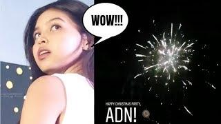 MAINE MENDOZA, NAPA-WOW SA PA FIREWORKS NG ALDUB NATION CHRISTMAS PARTY