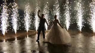 Холодные фонтаны, пиротехника на свадьбу Сибай, Белорецк, Магнитогорск!