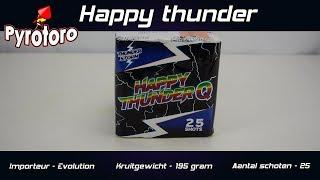 Knalcake - Happy thunder - Evolution Fireworks (Straatfilm)