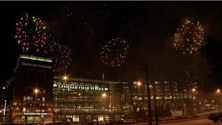 2019 Packers Family Night Fireworks