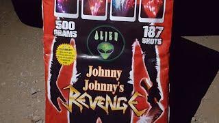 New* Johnny Johnny's revenge 187 500g cake Alien fireworks demo