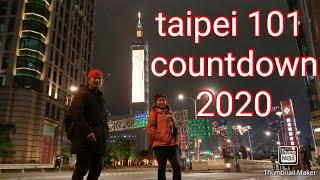 Taipei 101 fireworks display