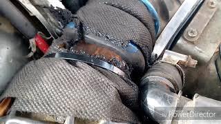 Шок!!!выстрел хлопушки спас инжектор ауди 80