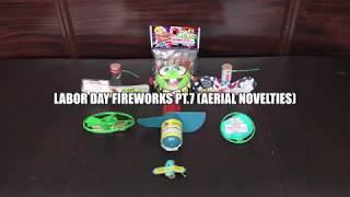 Labor Day Fireworks 2019 pt.7 (Aerial Novelties)
