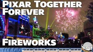 Pixar - Together Forever Fireworks Show at Disneyland 2018