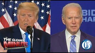 THE GLEANER MINUTE: Trump or Biden? Votes still being counted… Fireworks at the Waterfront cancelled
