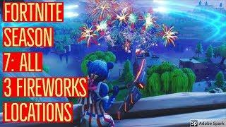 'Fortnite' Challenge Guide: Where To Launch 3 Fireworks   SUPER EASY