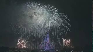 FULL VIDEO : 2020 CHINESE LUNAR YEAR CASTLE FIREWORKS OF SHANGHAI DISNEYLAN