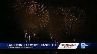 Milwaukee Lakefront fireworks cancelled for July 3rd