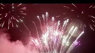 Новогодний салют в Виннице. Баттерфляй