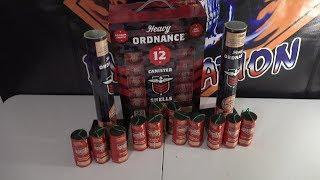 """HEAVY ORDNANCE 1.75"""" CANISTER SHELLS  - GREAT AMERICAN FIREWORKS"""