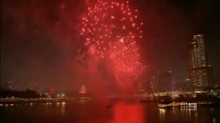 Brisbane Riverfire 2018 Fireworks - Channel 9 News coverage