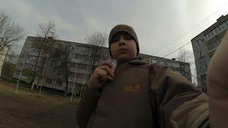 Vlog:Взрываю Хлопушки на улице