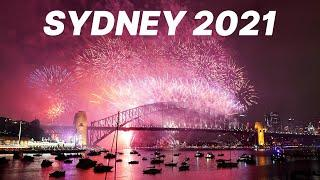 Full Sydney Fireworks - New Year Countdown 2021 - 2020 IS OVER!!!