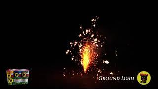 BC2194 Ground Load Fountain by Black Cat Fireworks