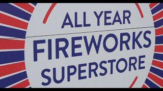 Trafalgar Fireworks - Norwich - Shop Tour