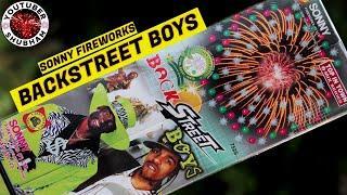 BACKSTREET BOYS from Sony Fireworks - Large Diwali Sky Shot testing 2021