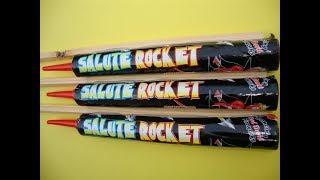 Salute Rocket / Red Devil Fireworks