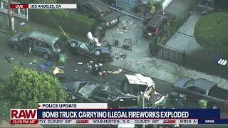 LA illegal fireworks explosion investigation update I LiveNOW from FOX