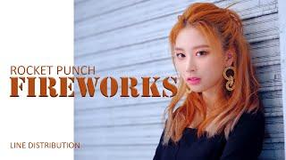 ROCKET PUNCH - FIREWORKS | LINE DISTRIBUTION