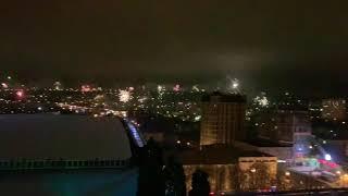 1 января 2019 года. Пятигорск. Центр. Салюты.