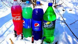 ✅БОЛЬШАЯ ПЕТАРДА  vs Coca Cola
