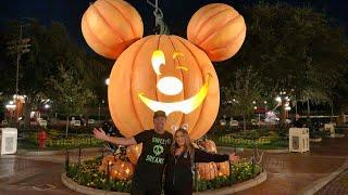 Disneyland Halloweentime Fun at Night! Halloween Screams Fireworks, Treats, & AFTER HOURS!