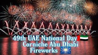 Abu Dhabi Fireworks 2020    49th UAE National Day