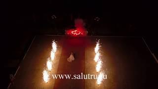 Салют на свадьбу в Самаре и Тольятти-съемка с квадрокоптера.