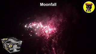 Moonfall 54 Shots Fan Barrage by Black Cat Fireworks