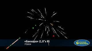 """Римская свеча Р5604 Баккара (1,0""""х8)"""