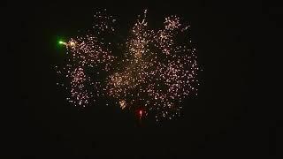 салют фейерверк огненный цветок