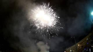 Крутой салют Новый год 2019