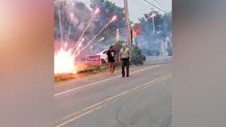 5 injured after fireworks fight outside of Little Rock